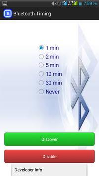 Bluetooth Timing screenshot 3
