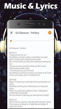 Perfect - Ed Sheeran Music & Lyrics screenshot 2