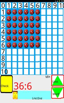 Division mission (math game). apk screenshot