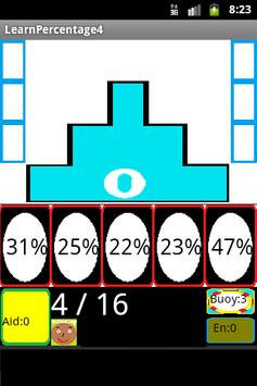Learn percentages with fun No4 poster
