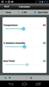 Perma Pure Dryer Sizing App apk screenshot