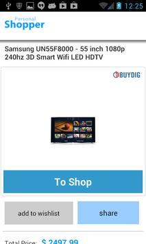 Online Shopping Price Compare apk screenshot