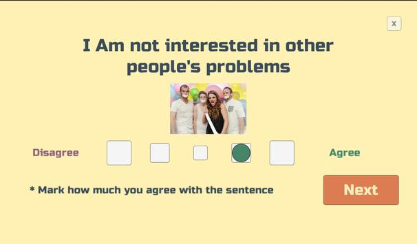 Free Personality Test screenshot 6