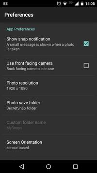 Secret Snap (Spy Camera) - Ads apk screenshot