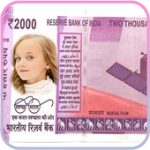 Indian Currency Photo Frames icon