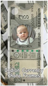 Indian Currency Photo Frames poster