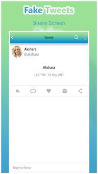 Fake Tweets Prank screenshot 4