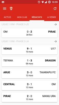 FTF - Féd. Tahitienne Football apk screenshot