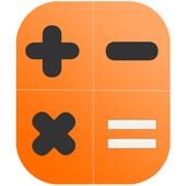 Calculator scientific Pro (simple) for free icon