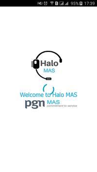 Halo MAS poster