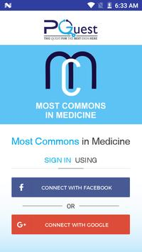 Most commons in medicine poster
