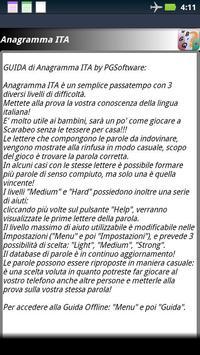 Anagramma ITA apk screenshot