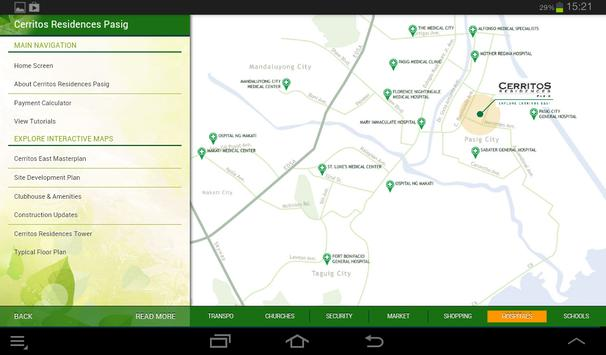 Cerritos Residences Pasig apk screenshot