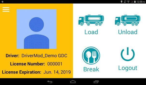 TrackMe Driver Module screenshot 2