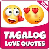 Tagalog Love Quotes 2018 icon