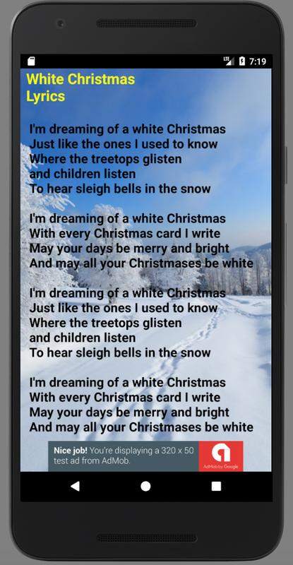 white christmas lyrics - Im Dreaming Of A White Christmas Lyrics