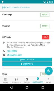 CCF Mobile screenshot 3