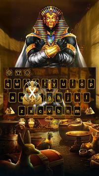 Pharaoh Treasury Keyboard Theme poster
