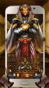 Pharaoh Treasury Keyboard Theme apk screenshot