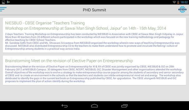 PHD MSME apk screenshot