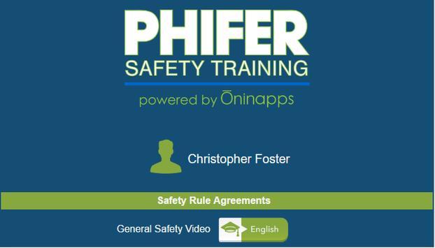 Phifer Safety by Oninapps apk screenshot