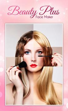 Face Beauty Makeup Camera screenshot 2