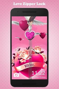 Love Zipper Lock poster