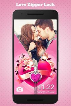 Love Zipper Lock screenshot 2