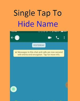 Hide Chat Name 截图 6