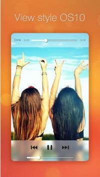 OS 10 Video Player apk screenshot