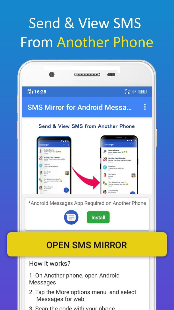 SMS Mirror for Android Messages for Android - APK Download