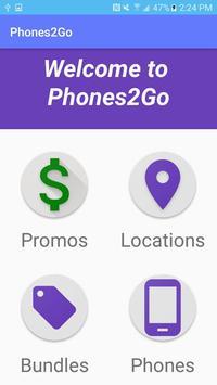 Phones2Go apk screenshot