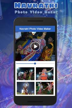 Navratri Photo Video Maker With Music poster