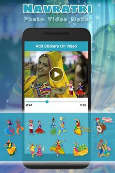 Navratri Photo Video Maker With Music apk screenshot