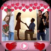 Love Photo Video Music Maker icon