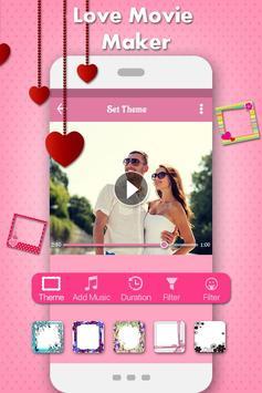 Love Photo Video Music Maker poster