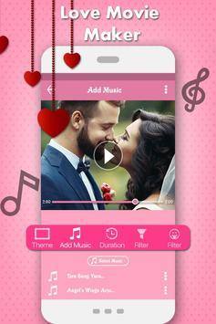 Love Photo Video Music Maker apk screenshot