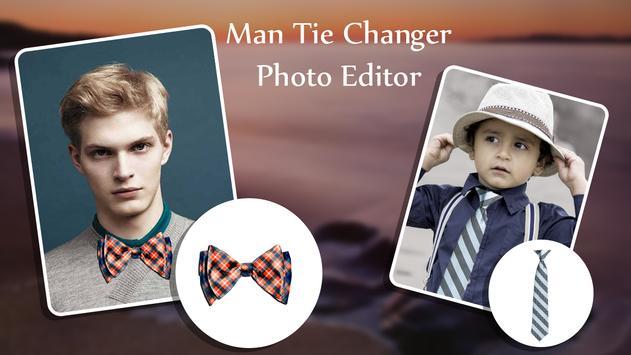 Man Tie Changer Photo Editor poster