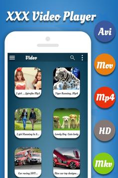 XXX - Video Player apk screenshot