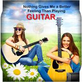 Guitar Dual Photo Frames icon