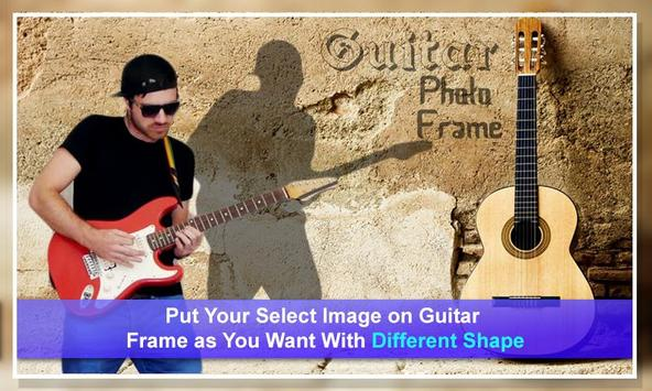 Guitar Dual Photo Frames poster
