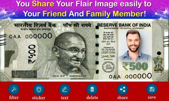 New Currency NOTE Photo Frame screenshot 3