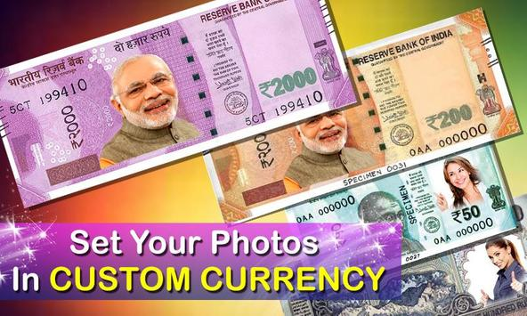 New Currency NOTE Photo Frame poster
