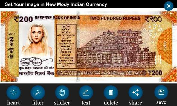 New Currency NOTE Photo Frame screenshot 1