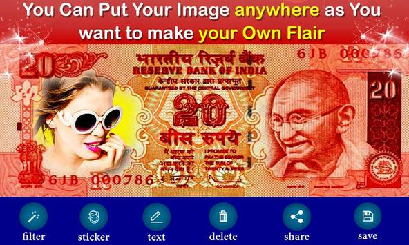 New Currency NOTE Photo Frame screenshot 2