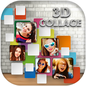 3D Photo Collage Editor icon