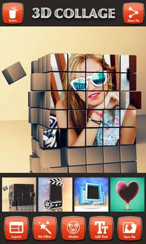 3D Photo Collage Editor poster