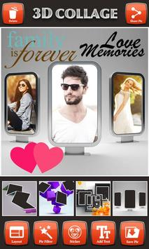 3D Photo Collage Editor apk screenshot