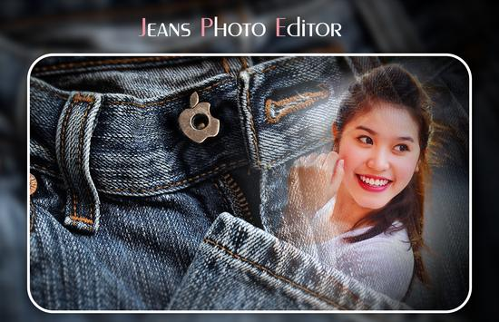 Jeans Photo Editor poster