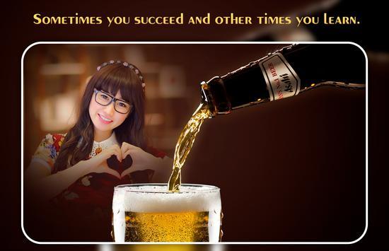 Beer Photo Editor apk screenshot